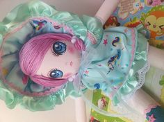 Sweet Kawaii Unicorn Bunka Doll by TheGiftMonkey on Etsy, $24.00