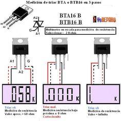 [Solucionado] - Triac me marca baja impedancia - Electrónica en general - YoReparo