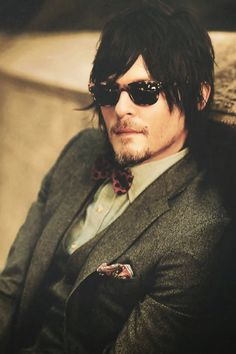 Norman Reedus looking like a wet dream come true in this picture.