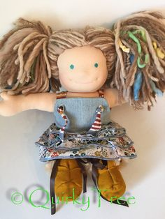 Doll Waldorf Patch Hazel 13 by QuirkyTree on Etsy