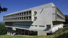 Le Corbusier Couvent de la Tourette, Éveux (Rhône), 1953