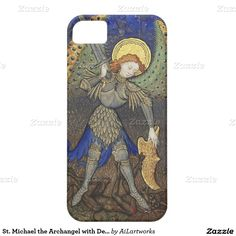 St. Michael the Archangel with Devil iPhone 5 Cover