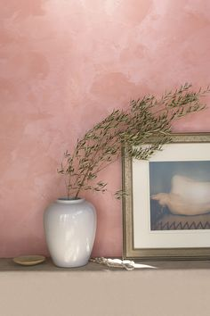 Ralph Lauren Paint introduces Polished Patina, a lustrous new specialty finish with layered, timeworn beauty. Color Pictured: Rosa Aurora