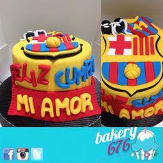 Barça cake / Barcelona cake