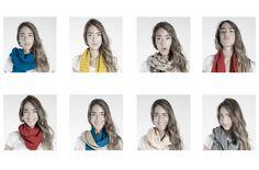 Bufandas y Fulares para los días más frios del otoño