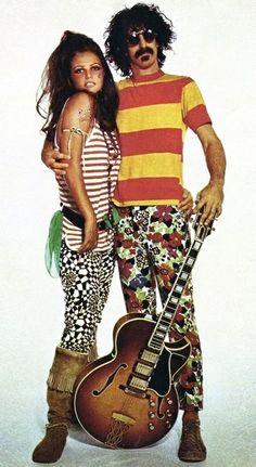 Claudia Cardinale & Frank Zappa by Richard Avedon - 1967.