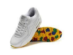 Nike Air Max 90 White Colorful