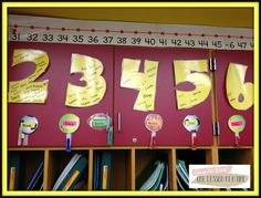 MATH MASTERS {Multiplication Fact Fluency}. Put giant laminated letters on the wall and write students' names on them with wet erase marker when they pass each fact. The blog post includes free fact sheets.
