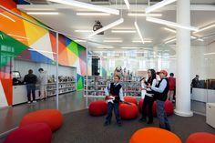 2013 AIA/ALA Library Building Awards: New York Public Library, Hamilton Grange Teen Center   Rice+Lipka Architects   © Michael Moran
