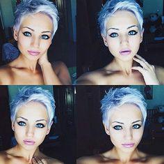 Kurze Haare nicht weiblich? Stimmt nicht!! Schau Dir diese 14 sehr weibliche pfiffige Kurzhaarfrisuren an! - Neue Frisur