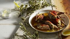 Prosciutto-wrapped quails stuffed with ricotta, sage and green olive recipe : SBS Food