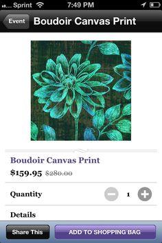 $159.95 boudoir canvas print https://www.jossandmain.com/Boudoir-Canvas-Print~DIUE1037~E3069.html?src=2=461AD2