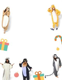 We'll be giving away a different kigurumi onesie every day for 12 days!