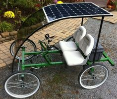 2-Person, 4-Wheel SportPed e-Two Quadricycle | Rhoades Car