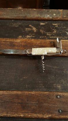 Mother of Pearl pocket knife.