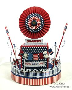 4th of July Smoothfoam Centerpiece