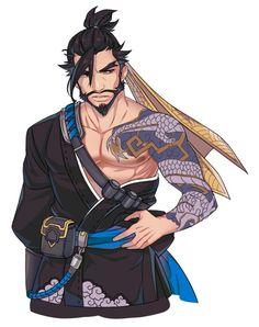 ^ㅇ^ (@won_jade) | Twitter Overwatch Tattoo, Overwatch Hanzo, Overwatch Fan Art, Bleach Drawing, Genji And Hanzo, Hanzo Shimada, D D Characters, Drawing People, Manga