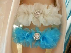 Wedding Garter Belt, Bridal Garter, Garter Belt, Wedding Garter Set, Garter, Ivory Silk Garter,Frayed Garter, Keepsake Garter, Blue Garter