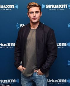 'Living my life through other people's pictures': Zac Efron used to Google himself every day but now has found his zen (pictured in NYC on Wednesday)