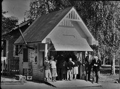 Maijan kioski, Imatrankoski 1950