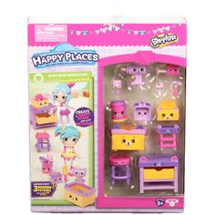 Shopkins Happy Places Season 3 Decorator's Pack - Busy Bear Workshop