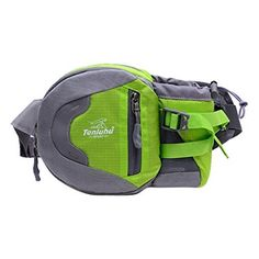 Smartstar Running Hiking Camping Cycling Traveling Multifunctional Waterproof Waist Pack with Water Bottle Holder  Green -- For more information, visit image link.Note:It is affiliate link to Amazon.