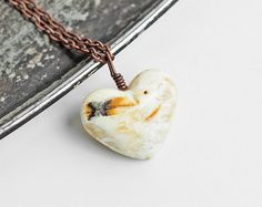 Large amber pendant raw amber pendant with by MELISSAaccessories