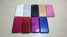For Apple iPhone 5C Glitter Hard Plastic Snap On Back Case
