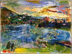 Oskar Kokoschka Lac d'Annecy