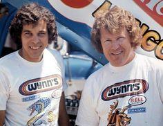 drag racing legends Don Prudhomme & Tom McEwen