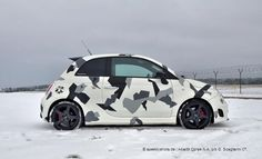 fiat 500 abarth with japanese body kit custom 500s. Black Bedroom Furniture Sets. Home Design Ideas