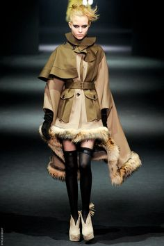 John Galliano FW2012. AMAZING. and this is why he is my favorite designer of all time.  I <3 you John Galliano... oh the things i wish you could teach me!