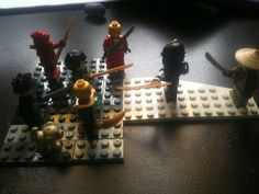 "Mortals call it ""playing with lego"" Demi Gods call it ""making battle plans"""
