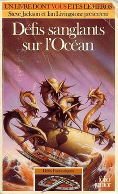Défis Fantastiques 16 : Défis sanglants sur l'Océan  L'aventure est vraiment agréable, avec une ambiance bien retranscrite et un challenge ardu à remporter. Parvenir à la victoire doit procurer un indéniable plaisir car il faut la mériter celle-ci !