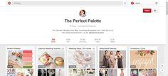 The Perfect Palette is een zeer populaire Pinterest pagina. Het gaat vooral over trouwen, bruidsjurken, kleuren en ideeën om jonge koppels een handje te helpen en te inspireren. Alles wat je nodig hebt om een trouw zo speciaal mogelijk te maken!