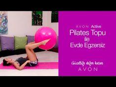 Pilates Topu İle Evde Egzersiz - YouTube Youtube, Avon, Gym Equipment, Yoga, Workout, Sports, Plates, Hs Sports, Licence Plates