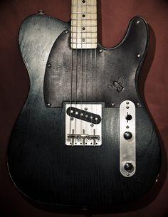 Ian's guitar with a Sparrow