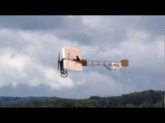 1/24 scale paper model of Bleriot XI - The Glorious Flight