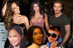 10 celebrities who totally transformed between childhood and adulthood - from Kim Kardashian and David Beckham to Rita Ora
