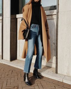 Mantel tragen, Casual Outfit Damen # Casual Outfits going out blouses Mantel Outfit Winter Outfits For Teen Girls, Winter Fashion Outfits, Fall Winter Outfits, Look Fashion, Autumn Winter Fashion, Womens Fashion, Fall Fashion, Summer Outfits, 40s Fashion
