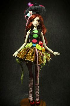 BJD Ball Jointed Porcelain Dolls by Forgotten Hearts . Aidamaris Roman & Gamalier Bravo | Flickr