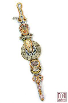 RTM-B691, rtm b691, thin bracelet, handmade bracelet, pastel colors bracelet,