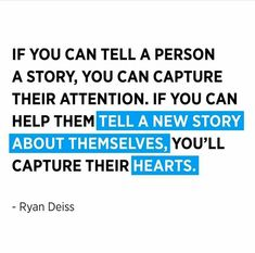 If you can tell a person a story, you can capture their attention. If you can help them tell a new story about themselves, you'll capture their hearts. Facebook Ads Guide, Facebook Business, Facebook Marketing, Business News, Digital Marketing Quotes, Digital Marketing Services, Quality Quotes, Youtube Money, Grant Cardone