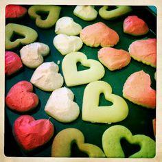 :: kraftykym ::: valentines sugar cookies