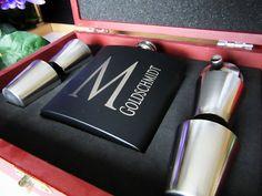 Groomsmen Gift  Keepsake Box  Set of 1 Laser by AwardSourceLLC