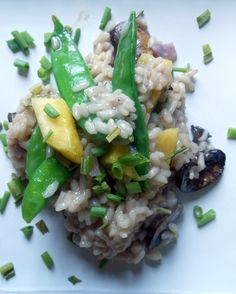 Risotto with Pineapple and Coconut Milk - Sugar Dish Me