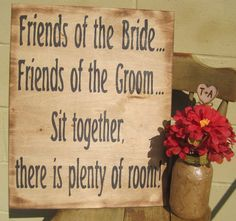 Rustic Wedding Sign Xlarge Directional ceremony reception enter sign Country weddings