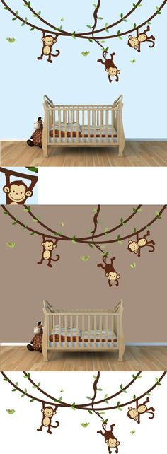 Africa Tree And Giraffe Wall Decal PopDecorscom  Tree - Boat decals adelaide   easy removal