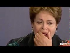 Dilma se desespera, perde a postura de presidente e está à beira da loucura - YouTube