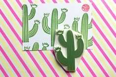 hand carved rubber stamp by talktothesun. tropical fruit stamp series for your summer + lemonade stand theme diy crafts. Flower Bookey, Flower Film, Cactus Flower, Flower Pots, Summer Crafts, Holiday Crafts, Diy And Crafts, Arts And Crafts, Lino Art